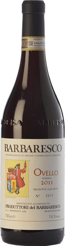47,95 € | Red wine Produttori del Barbaresco Ovello D.O.C.G. Barbaresco Piemonte Italy Nebbiolo Bottle 75 cl