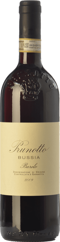 69,95 € | Red wine Prunotto Bussia D.O.C.G. Barolo Piemonte Italy Nebbiolo Bottle 75 cl