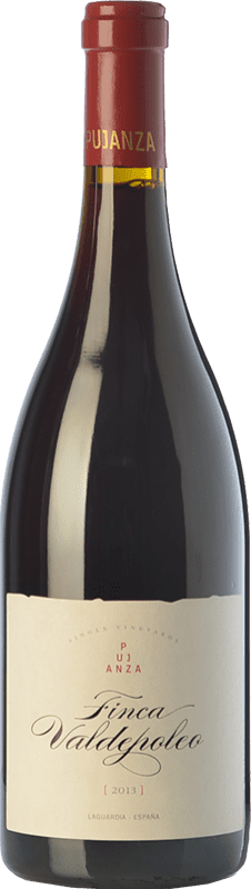 53,95 € Free Shipping | Red wine Pujanza Finca Valdepoleo Crianza D.O.Ca. Rioja The Rioja Spain Tempranillo Magnum Bottle 1,5 L