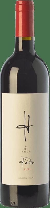 13,95 € Envoi gratuit | Vin rouge Pujanza Hado Crianza D.O.Ca. Rioja La Rioja Espagne Tempranillo Bouteille 75 cl