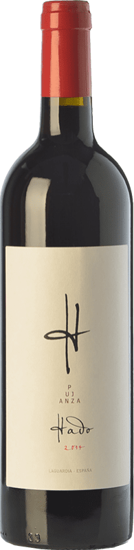 13,95 € Envío gratis | Vino tinto Pujanza Hado Crianza D.O.Ca. Rioja La Rioja España Tempranillo Botella 75 cl
