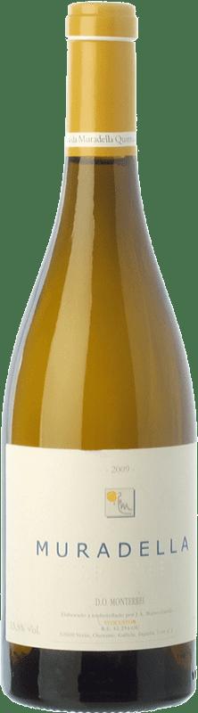 47,95 € | White wine Quinta da Muradella Crianza D.O. Monterrei Galicia Spain Treixadura Bottle 75 cl
