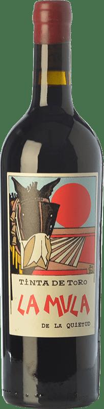 64,95 € Free Shipping | Red wine Quinta de la Quietud La Mula de la Quietud Crianza D.O. Toro Castilla y León Spain Tinta de Toro Bottle 75 cl