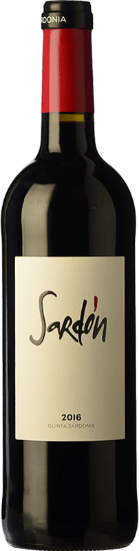 12,95 € 免费送货   红酒 Quinta Sardonia Sardón Crianza I.G.P. Vino de la Tierra de Castilla y León 卡斯蒂利亚莱昂 西班牙 Tempranillo, Grenache, Cabernet Sauvignon, Malbec 瓶子 75 cl