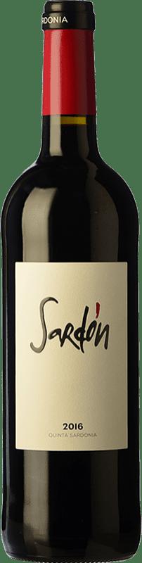 12,95 € Free Shipping | Red wine Quinta Sardonia Sardón Crianza I.G.P. Vino de la Tierra de Castilla y León Castilla y León Spain Tempranillo, Grenache, Cabernet Sauvignon, Malbec Bottle 75 cl