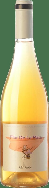 28,95 € Free Shipping | White wine Bernabé Flor de la Mata Crianza D.O. Alicante Valencian Community Spain Muscatel, Merseguera Bottle 75 cl