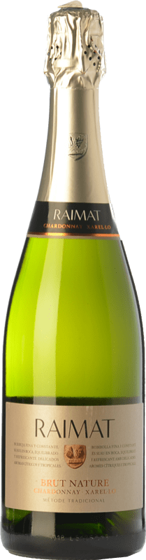 8,95 € | White sparkling Raimat Chardonnay Xarel·lo Brut Nature D.O. Cava Catalonia Spain Xarel·lo, Chardonnay Bottle 75 cl