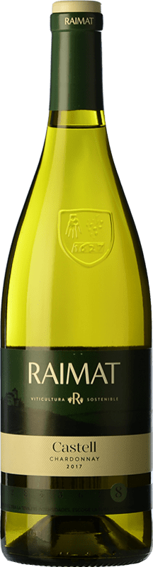 7,95 € | White wine Raimat Castell D.O. Costers del Segre Catalonia Spain Chardonnay Bottle 75 cl