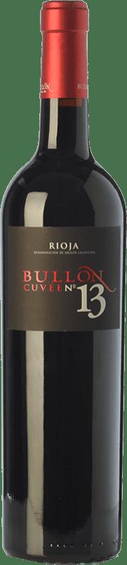 36,95 € | Red wine Ramírez de Inoriza Bullón Cuvée Nº 13 Reserva D.O.Ca. Rioja The Rioja Spain Tempranillo Bottle 75 cl