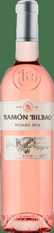 7,95 € Envoi gratuit | Vin rose Ramón Bilbao D.O.Ca. Rioja La Rioja Espagne Grenache Bouteille 75 cl