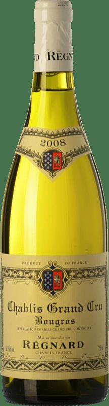 59,95 € | White wine Régnard Bougros 2008 A.O.C. Chablis Grand Cru Burgundy France Chardonnay Bottle 75 cl