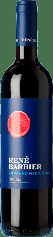 5,95 € Envío gratis | Vino tinto René Barbier Abocado Semiseco Joven D.O. Penedès Cataluña España Tempranillo, Garnacha, Monastrell Botella 75 cl