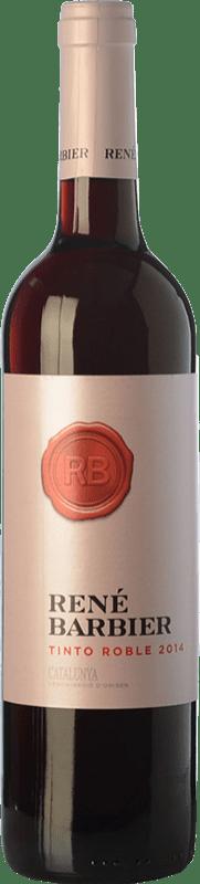 5,95 € 免费送货 | 红酒 René Barbier Roble D.O. Penedès 加泰罗尼亚 西班牙 Tempranillo, Grenache, Torrontés 瓶子 75 cl