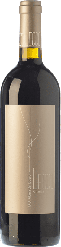 13,95 € Free Shipping | Red wine Resalte Lecco Crianza D.O. Ribera del Duero Castilla y León Spain Tempranillo Bottle 75 cl