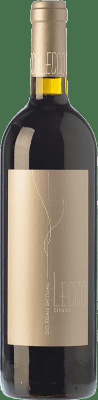 13,95 € Envoi gratuit | Vin rouge Resalte Lecco Crianza D.O. Ribera del Duero Castille et Leon Espagne Tempranillo Bouteille 75 cl