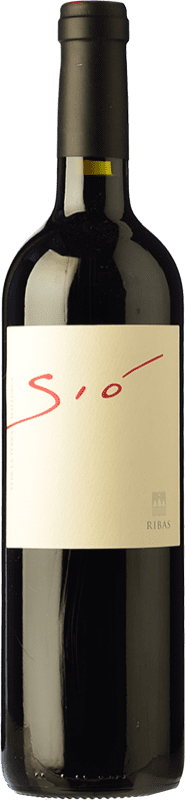 24,95 € Free Shipping | Red wine Ribas Sió Crianza I.G.P. Vi de la Terra de Mallorca Balearic Islands Spain Merlot, Syrah, Cabernet Sauvignon, Mantonegro Bottle 75 cl