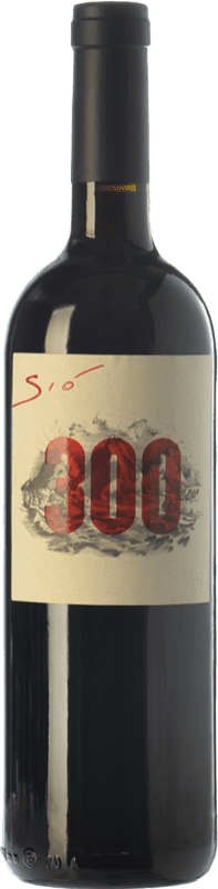 34,95 € Free Shipping | Red wine Ribas Sió 300 Crianza I.G.P. Vi de la Terra de Mallorca Balearic Islands Spain Merlot, Syrah, Cabernet Sauvignon, Mantonegro, Gargollassa Bottle 75 cl