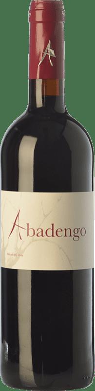 11,95 € Free Shipping | Red wine Ribera de Pelazas Abadengo Crianza D.O. Arribes Castilla y León Spain Juan García Bottle 75 cl