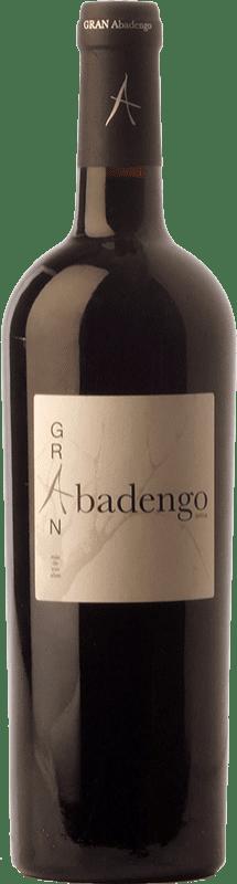 22,95 € Free Shipping | Red wine Ribera de Pelazas Gran Abadengo Crianza D.O. Arribes Castilla y León Spain Juan García Bottle 75 cl