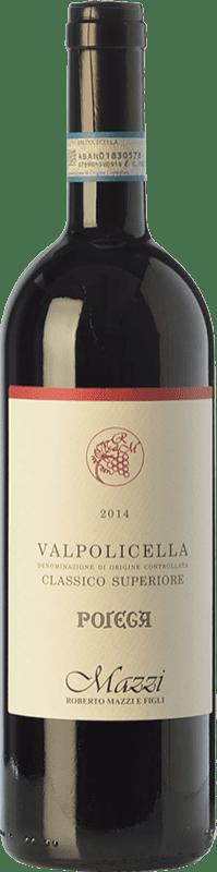 23,95 €   Red wine Mazzi Classico Superiore Pojega D.O.C. Valpolicella Veneto Italy Corvina, Rondinella, Corvinone, Molinara Bottle 75 cl