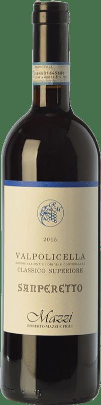 19,95 €   Red wine Mazzi Classico Superiore Sanperetto D.O.C. Valpolicella Veneto Italy Corvina, Rondinella, Corvinone, Molinara Bottle 75 cl