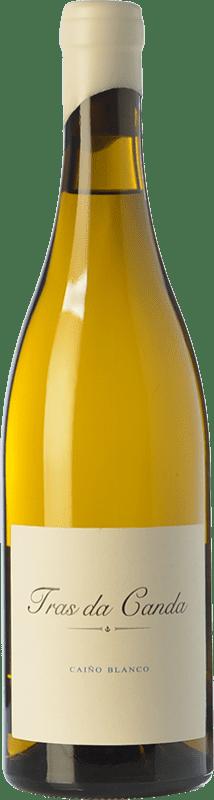 31,95 € Free Shipping | White wine Rodrigo Méndez Tras da Canda Crianza D.O. Rías Baixas Galicia Spain Caíño White Bottle 75 cl