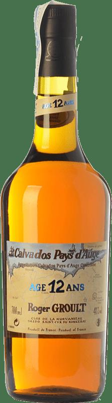 73,95 € Envío gratis | Calvados Roger Groult Vieux 12 I.G.P. Calvados Pays d'Auge Francia Botella 70 cl