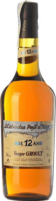 73,95 € 免费送货 | 卡尔瓦多斯 Roger Groult Vieux 12 I.G.P. Calvados Pays d'Auge 法国 瓶子 70 cl