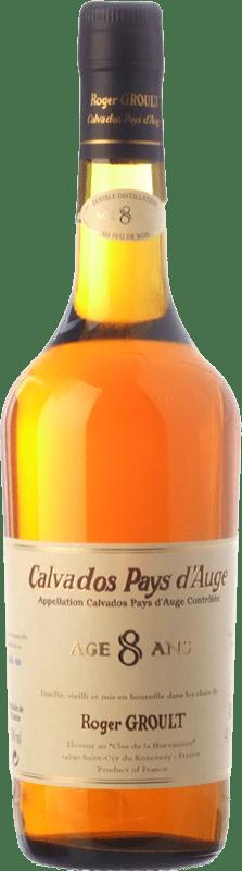 58,95 € Envío gratis | Calvados Roger Groult Vieux 8 Años I.G.P. Calvados Pays d'Auge Francia Botella 70 cl