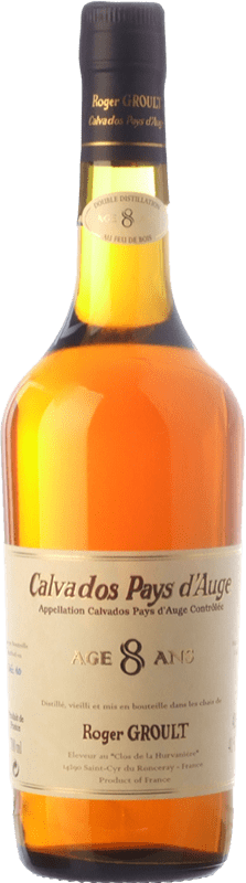 58,95 € 免费送货 | 卡尔瓦多斯 Roger Groult Vieux 8 Años I.G.P. Calvados Pays d'Auge 法国 瓶子 70 cl