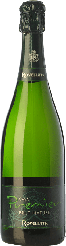 9,95 € Free Shipping | White sparkling Rovellats Premier Brut Nature D.O. Cava Catalonia Spain Macabeo, Parellada Bottle 75 cl