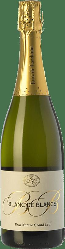 25,95 € | White sparkling Ruiz de Cardenas BdB Grand Cru Brut Nature Italy Chardonnay Bottle 75 cl