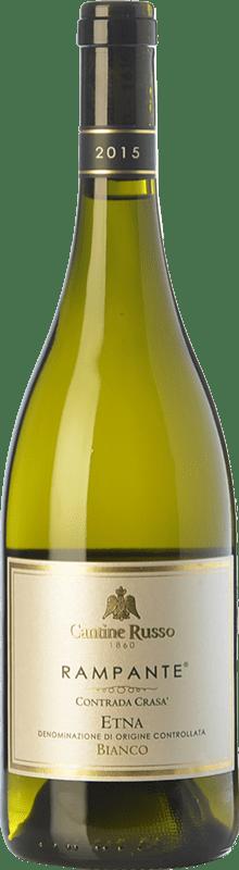 17,95 € | White wine Russo Bianco Rampante D.O.C. Etna Sicily Italy Carricante, Catarratto Bottle 75 cl