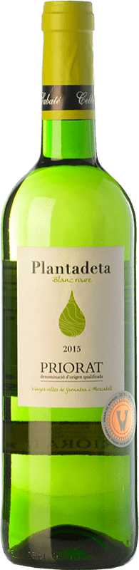 13,95 € Free Shipping | White wine Sabaté Plantadeta Blanc Crianza D.O.Ca. Priorat Catalonia Spain Grenache White, Muscat Bottle 75 cl