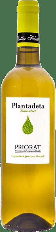 11,95 € | White wine Sabaté Plantadeta Blanc Crianza D.O.Ca. Priorat Catalonia Spain Grenache White, Muscatel Bottle 75 cl