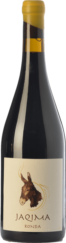 19,95 € Free Shipping | Red wine Samsara Jaqima Joven D.O. Sierras de Málaga Andalusia Spain Syrah, Grenache Bottle 75 cl