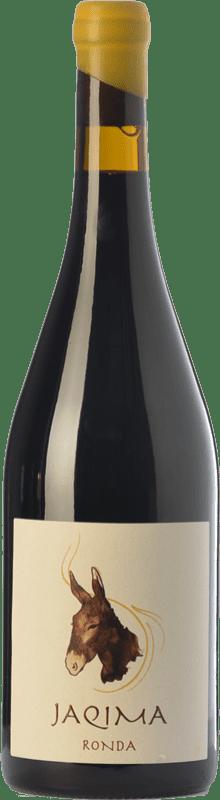 19,95 € Envío gratis | Vino tinto Samsara Jaqima Joven D.O. Sierras de Málaga Andalucía España Syrah, Garnacha Botella 75 cl