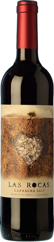9,95 € Free Shipping | Red wine San Alejandro Las Rocas Joven D.O. Calatayud Aragon Spain Grenache Bottle 75 cl