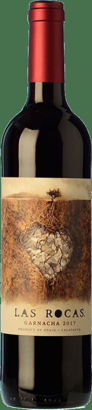 9,95 € Envío gratis | Vino tinto San Alejandro Las Rocas Joven D.O. Calatayud Aragón España Garnacha Botella 75 cl