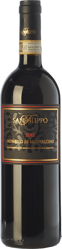 64,95 € Free Shipping | Red wine San Filippo D.O.C.G. Brunello di Montalcino Tuscany Italy Sangiovese Bottle 75 cl