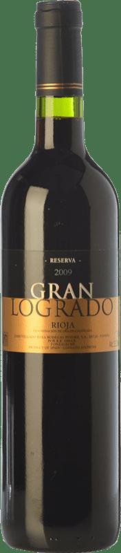 18,95 € Free Shipping | Red wine San Martín de Ábalos Gran Logrado Reserva D.O.Ca. Rioja The Rioja Spain Tempranillo, Grenache, Viura Bottle 75 cl
