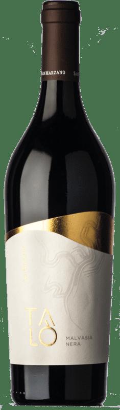 12,95 € Free Shipping | Red wine San Marzano Malvasia Nera Talò I.G.T. Salento Campania Italy Malvasia Black Bottle 75 cl