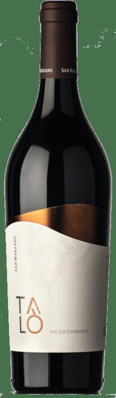15,95 € 免费送货 | 红酒 San Marzano Talò I.G.T. Puglia 普利亚大区 意大利 Negroamaro 瓶子 75 cl