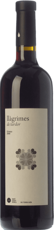 9,95 € Free Shipping | Red wine Sant Josep Llàgrimes de Tardor Negre Crianza D.O. Terra Alta Catalonia Spain Tempranillo, Syrah, Grenache, Carignan Bottle 75 cl