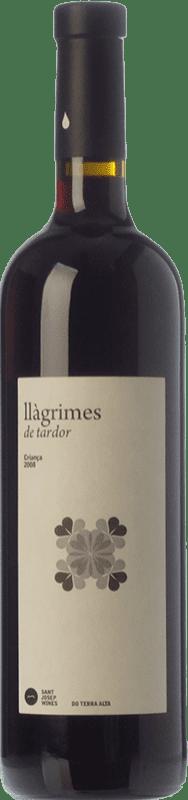 9,95 € Envío gratis | Vino tinto Sant Josep Llàgrimes de Tardor Negre Crianza D.O. Terra Alta Cataluña España Tempranillo, Syrah, Garnacha, Cariñena Botella 75 cl
