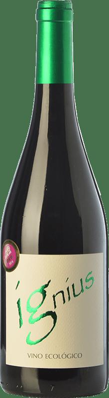 17,95 € Free Shipping | Red wine Sanz Soguero Ignius Crianza Spain Grenache Bottle 75 cl