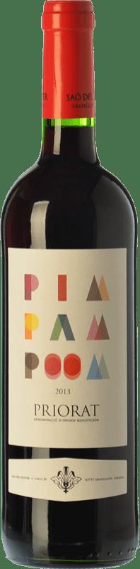 13,95 € | Red wine Saó del Coster Pim Pam Poom Joven D.O.Ca. Priorat Catalonia Spain Grenache Bottle 75 cl