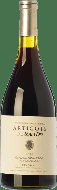 72,95 € Envío gratis | Vino tinto Scala Dei Artigots Crianza 2010 D.O.Ca. Priorat Cataluña España Garnacha Botella 75 cl