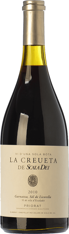 72,95 € Envío gratis | Vino tinto Scala Dei La Creueta Crianza 2010 D.O.Ca. Priorat Cataluña España Garnacha Botella 75 cl