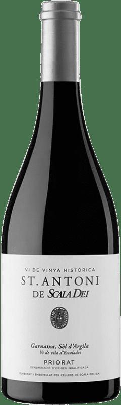 73,95 € Envío gratis | Vino tinto Scala Dei Sant Antoni Crianza D.O.Ca. Priorat Cataluña España Garnacha Botella 75 cl